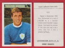 Leicester City Bobby Roberts 112